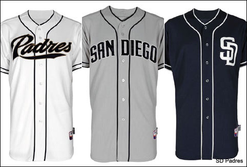 outlet store e5ca1 282d0 san diego padres away jersey
